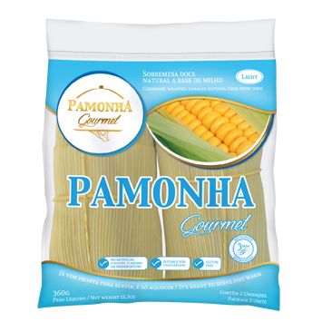 Pamonha light congelada 100% natural